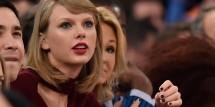 Taylor Swift at Knicks Game