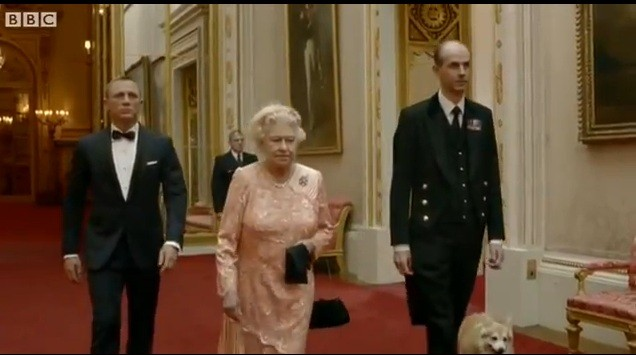 James Bond escorts Queen Elizabeth to the Opening Ceremony of the 2012 London Olympics in a clip directed by Oscar winning filmmaker Danny Boyle.