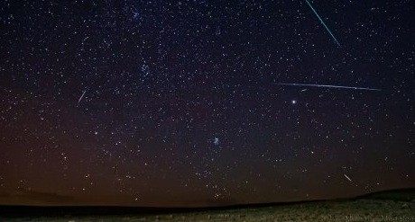 Galerry Perseid Meteor Shower August 12 13 2017 in the Morning Sky