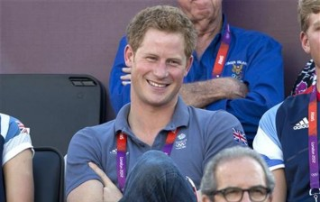 Britain's Prince Harry