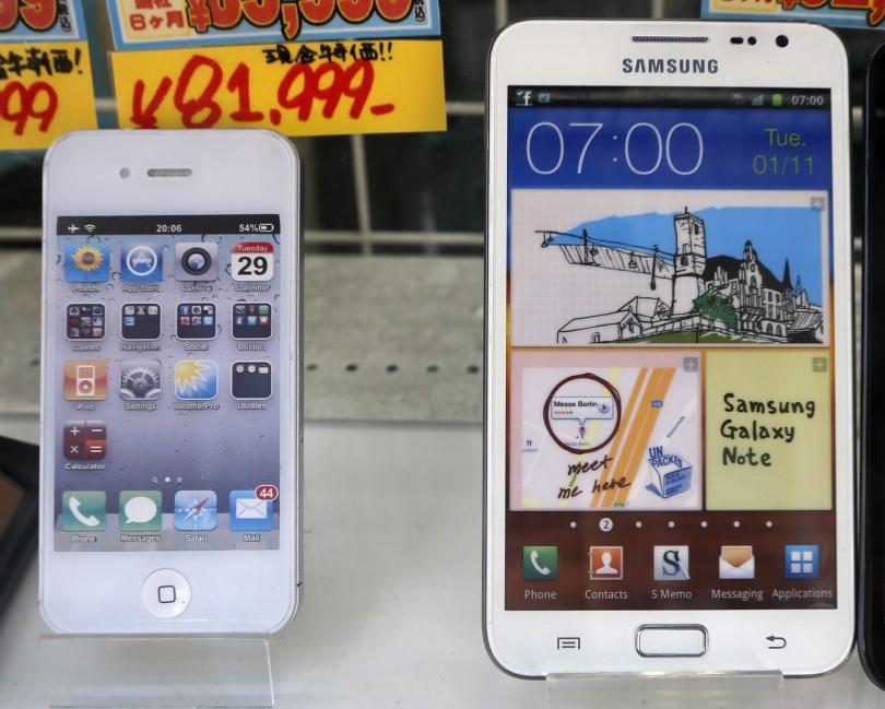 iPhone vs. Galaxy