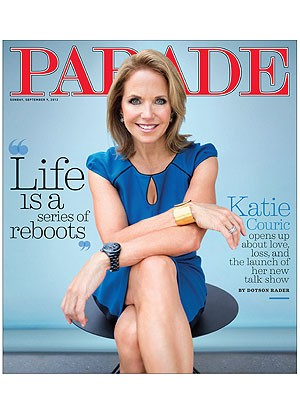Katie Couric Parade Magazine Cover