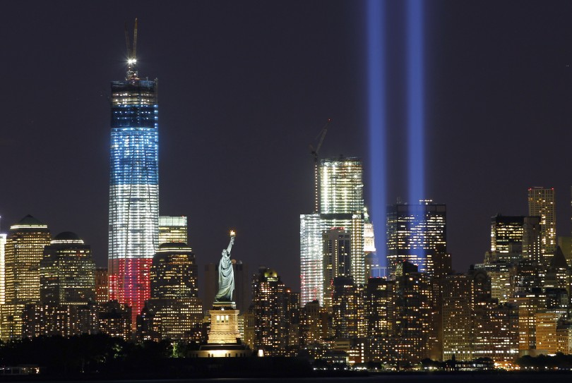 9/11 Light Tribute
