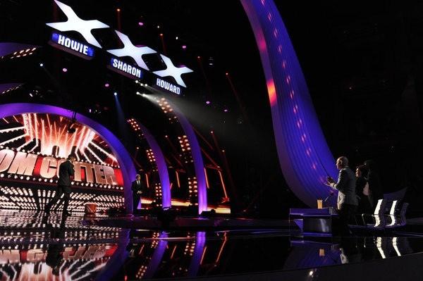 AMERICA'S GOT TALENT -- Episode 730 -- Pictured: (l-r) Nick Cannon, Tom Cotter, Howie Mandel, Sharon Osbourne.