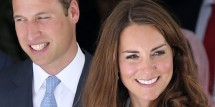 Britain's Prince William and Katherine