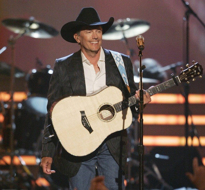 Singer George Strait performs at the 43rd Annual Academy of Country Music Awards show in Las Vegas