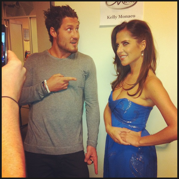 "Kelly Monaco and ""Dancing with the Stars"" partner Val Chmerkovskiy"
