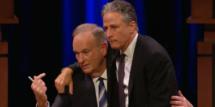 Jon Stewart and Bill O'Reilly