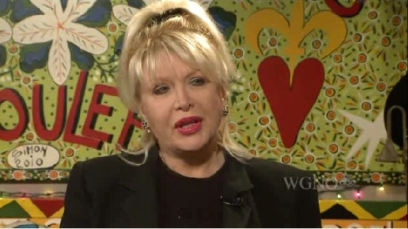 Gennifer Flowers in 2012 at age 62.