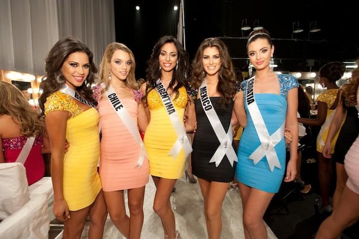 Miss Universe Presentation Show Backstage