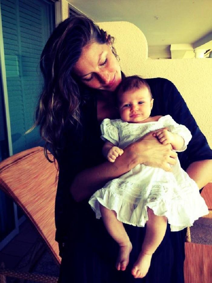 Gisele Bundchen Baby Vivian Lake