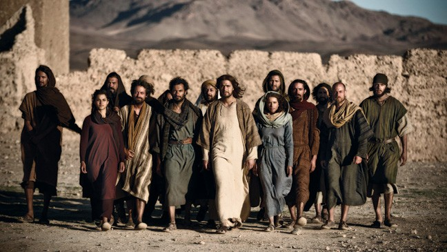 "A scene from History Channel's TV Show ""The Bible"""